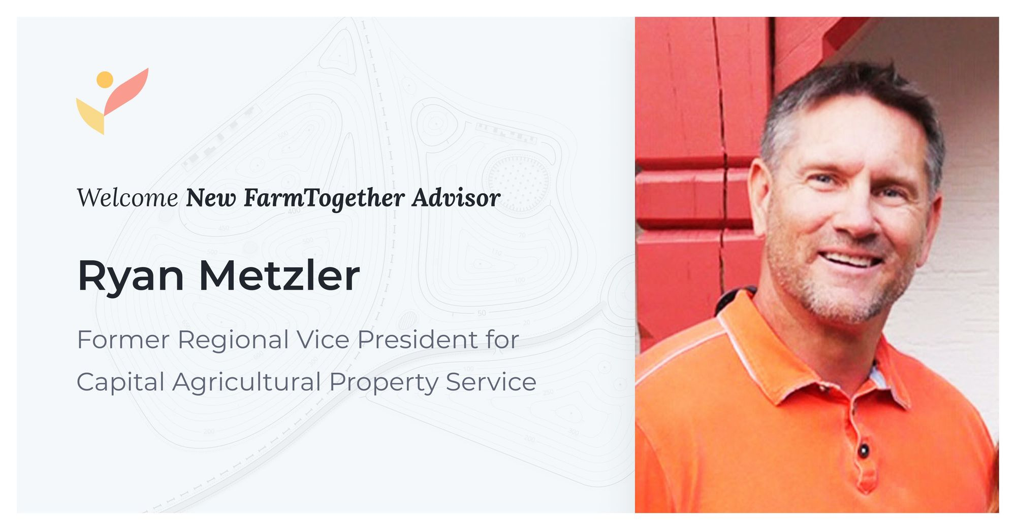 Ryan Metzler, Former Regional Vice President for Capital Agricultural Property Service